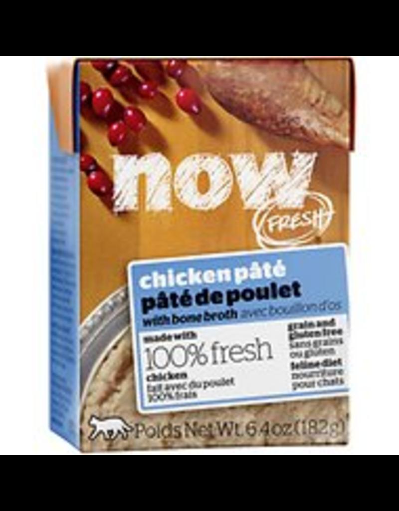 Petcurean NOW Cat Grain-Free Pate CASE Chicken 6.4 oz