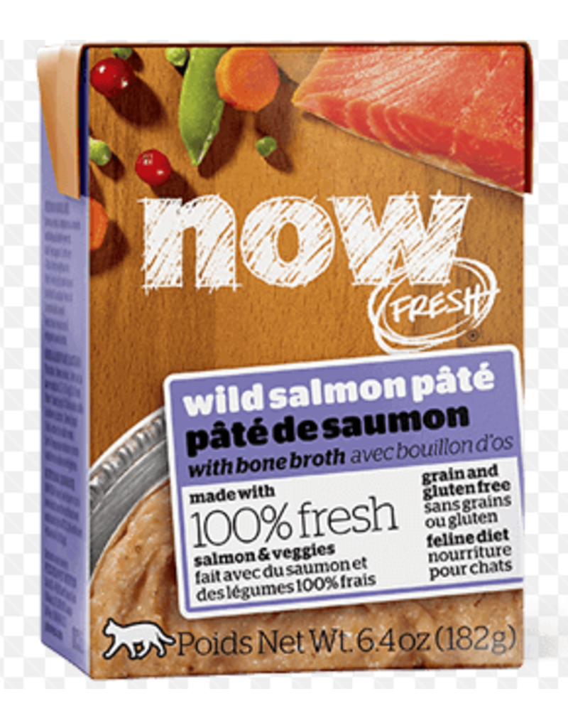 Petcurean NOW Cat Grain-Free Pate Salmon 6.4 oz single