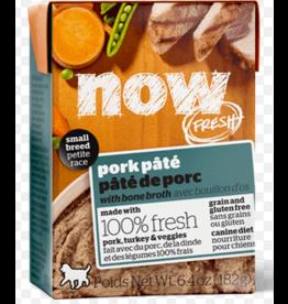 Petcurean NOW Dog Grain-Free Pate CASE Pork Small Breed 6.4 oz