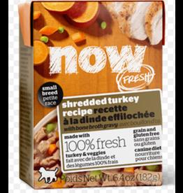 Petcurean NOW Dog Grain-Free Shredded CASE Turkey Small Breed 6.4 oz