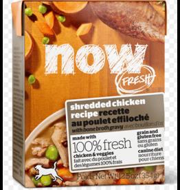 Petcurean NOW Dog Grain-Free Shredded Chicken 12.5 oz single