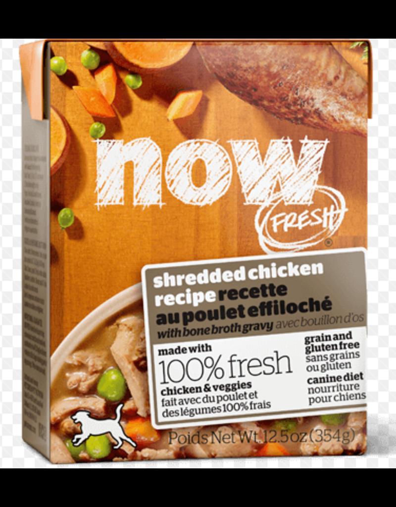 Petcurean NOW Dog Grain-Free Shredded CASE Chicken 12.5 oz