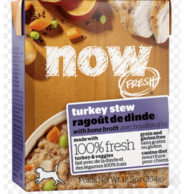 Petcurean NOW Dog Grain-Free Stew Turkey 12.5 oz single