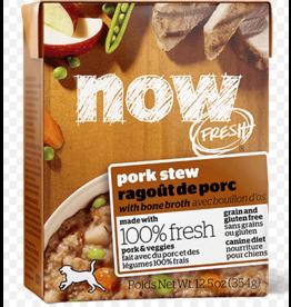 Petcurean NOW Dog Grain-Free Stew Pork 12.5 oz single