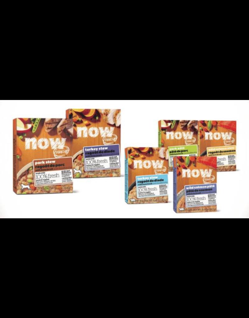 Petcurean NOW Dog Grain-Free Stew CASE Pork 12.5 oz