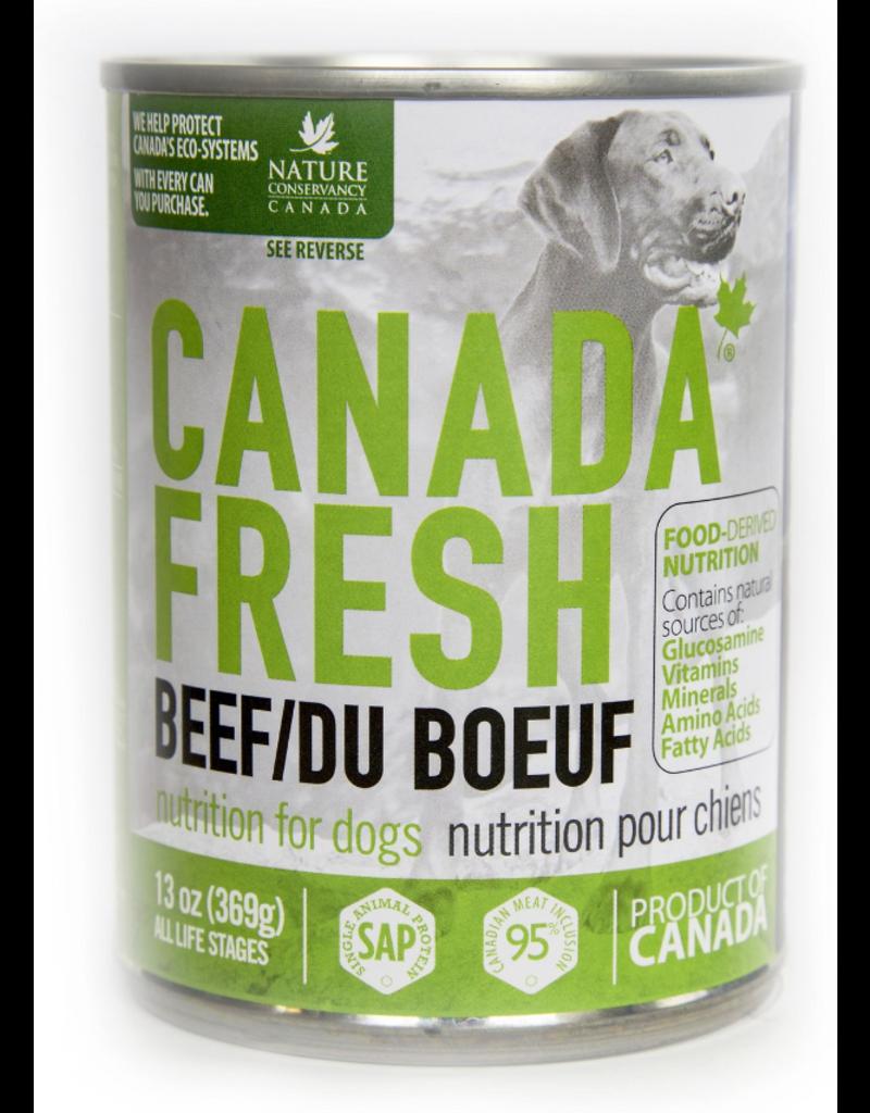 Petkind Petkind Canada Fresh Canned Dog Food CASE Beef 13 oz