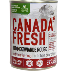 Petkind Z Petkind Canada Fresh Canned Dog Food CASE Red Meat 13 oz