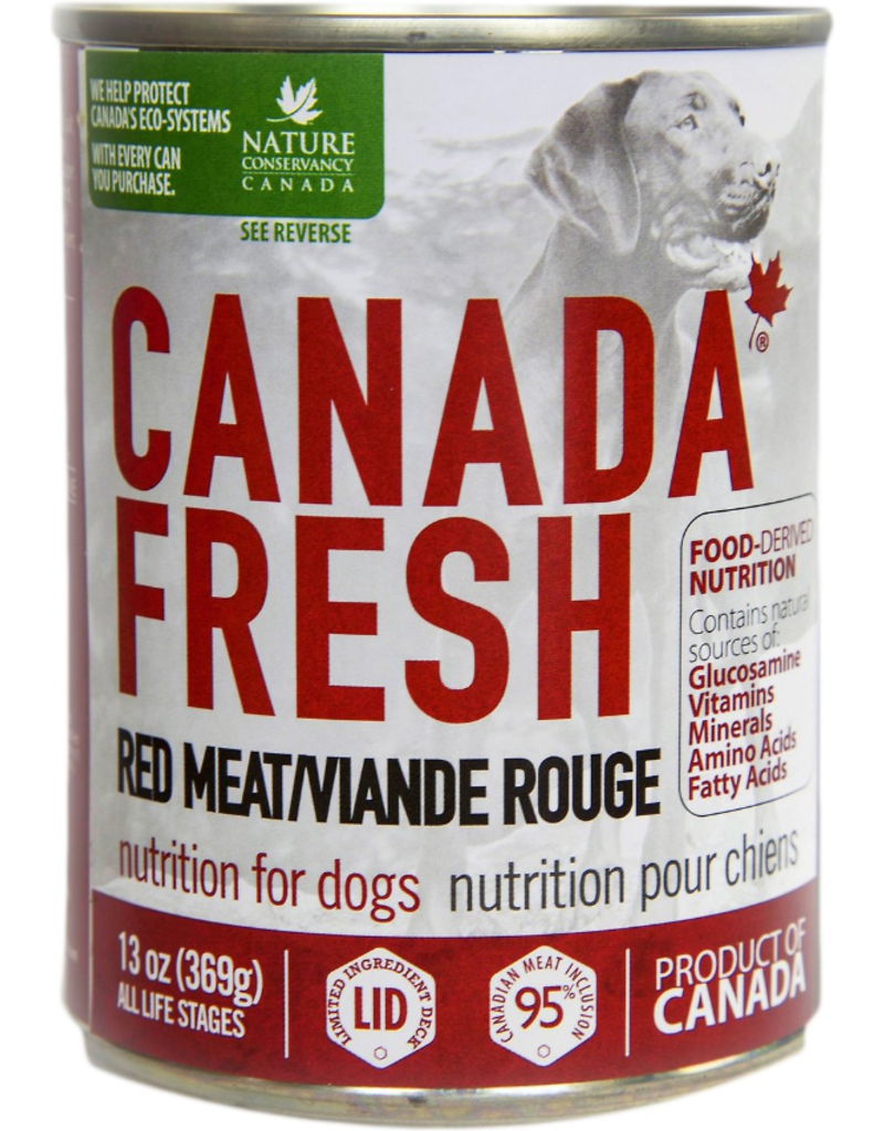 Petkind Petkind Canada Fresh Canned Dog Food CASE Red Meat 13 oz