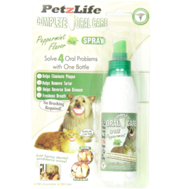 Petzlife PetzLife Oral Care Peppermint Spray Blister Pack 1 oz