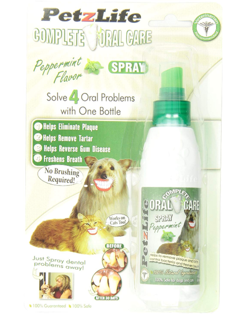 Petzlife PetzLife Oral Care Peppermint Spray Blister Pack 4 oz