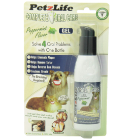 Petzlife PetzLife Oral Care Peppermint Gel Blister Pack 4 oz