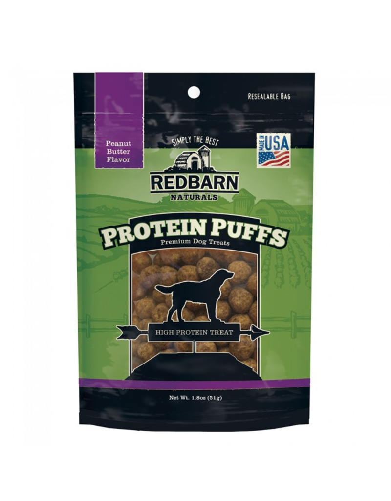 Red Barn Red Barn Protein Puff Dog Treats Peanut Butter 1.8 oz