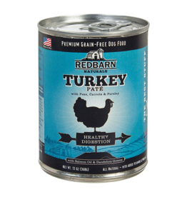Red Barn Red Barn Canned Dog Food CASE Turkey Pate Healthy Digestion 13 oz