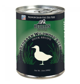 Red Barn Red Barn Canned Dog Food CASE Wildwood Duck Stew Skin & Coat 13 oz