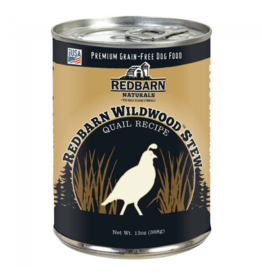Red Barn Red Barn Canned Dog Food CASE Wildwood Quail Stew Strong Teeth & Bones 13 oz