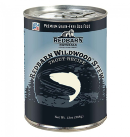 Red Barn Red Barn Canned Dog Food CASE Wildwood Trout Stew Joint Support 13 oz