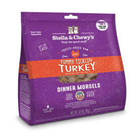 Stella & Chewy's Stella & Chewy's Freeze Dried Cat Food | Tummy Ticklin' Turkey 18 oz