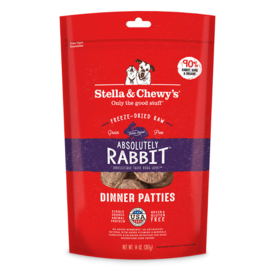 Stella & Chewy's Stella & Chewy's Freeze Dried Dog Food  Absolutely Rabbit Dinner Patties 14 oz