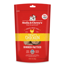 Stella & Chewy's Stella & Chewy's Freeze Dried Dog Food  Chicken Dinner Patties 5.5 oz