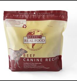 Steve's Real Food Freeze Dried Dog Food Beef 20 oz