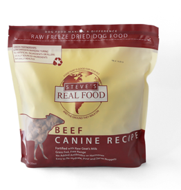 Steve's Real Food Steve's Real Food Freeze Dried Dog Food Beef 20 oz