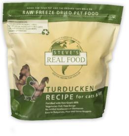 Steve's Real Food Freeze Dried Dog Food Turducken 20 oz