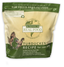 Steve's Real Food Freeze Dried Dog Food Turducken 20 oz