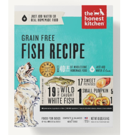 The Honest Kitchen The Honest Kitchen Dehydrated Dog Food Grain-Free Fish Zeal 4 lb