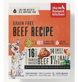 The Honest Kitchen The Honest Kitchen Dehydrated Dog Food Grain-Free Beef Love 2 lb