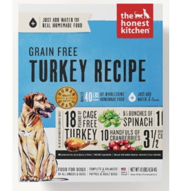 The Honest Kitchen The Honest Kitchen Dehydrated Dog Food Grain-Free Turkey Embark 4 lb