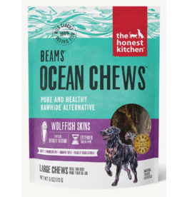 The Honest Kitchen The Honest Kitchen Crunchy Dog Treats Beams Wolffish Skins Large 6 oz