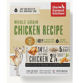 The Honest Kitchen The Honest Kitchen Dehydrated Dog Food Whole Grain Chicken Revel 2 lb