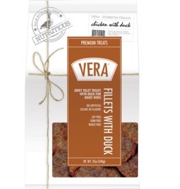 Vera Vera Dog Treats Duck Fillets 12 oz