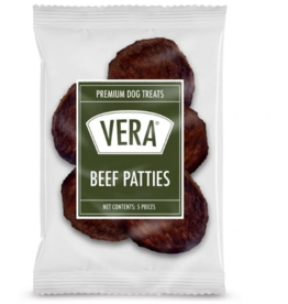Vera Vera Dog Treats Burger Patties 5 pc 1.5 oz