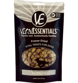 Vital Essentials Vital Essentials Freeze Dried Dog Treats  Rabbit Bites 2 oz