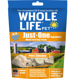 Whole Life Freeze Dried Dog Treats  Pure Chicken Breast 3 oz