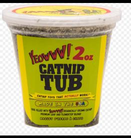 Yeowww! Yeowww! Cat Toys Catnip Tub 2 oz