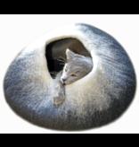 Distinctly Himalayan Distinctly Himalayan Felt Cat Cave Ombre Black/White