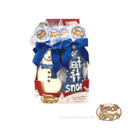 Bosco and Roxy's Bosco & Roxy's Holiday 2019 | Snow Cute! Prepackaged Snowman or Let It Snow bone single