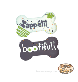 "Bosco and Roxy's Bosco & Roxy's Halloween 2019 | Prepackaged Bootiful or Bone Appetite 6"" Bone single"