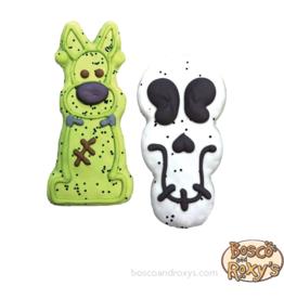 Bosco and Roxy's Bosco & Roxy's Halloween 2019 | Prepackaged Frankendog or Creepy Skull single
