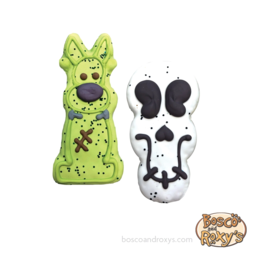 Bosco and Roxy's Bosco & Roxy's Halloween 2019 | Prepackaged Frankendog or Creepy Skull single