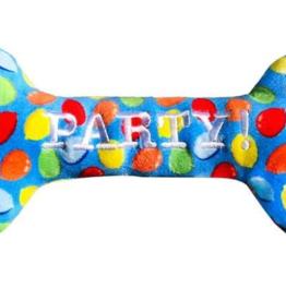 Huxley & Kent Lulubelles Power Plush by Huxley & Kent Birthday | Blue Party Time Bone Large