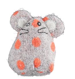 HuggleHounds Huggle Hounds Toys HuggleKats Organic Catnip Mouse Small