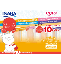 Inaba Inaba Variety Pack Chicken Fillet 9 oz 10 pk