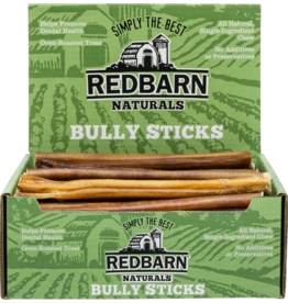 "Red Barn Red Barn Dog  9"" Bully Sticks CASE"