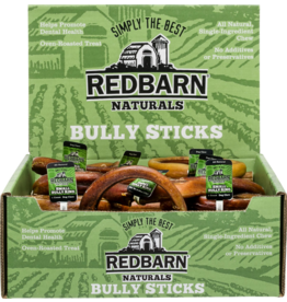 Red Barn Red Barn Dog Bully Sticks  Small Bully Ring CASE