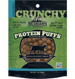 Red Barn Red Barn Protein Puff Cat Treats Turkey 1 oz single