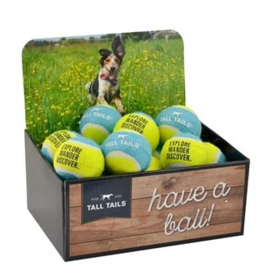 Tall Tails Tall Tails Sport Ball Blue & Yellow CASE