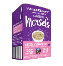 Stella & Chewy's Stella & Chewy's Canned Cat Food Marvelous Morsels Chicken & Salmon 5.5 oz single